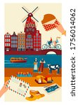Netherlands Travel Postcard ...