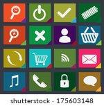 technology design over black  ... | Shutterstock .eps vector #175603148