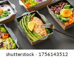 Ready healthy food catering...