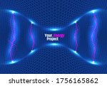 abstract energy formation.... | Shutterstock .eps vector #1756165862