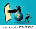 business concept illustration... | Shutterstock .eps vector #1756225388