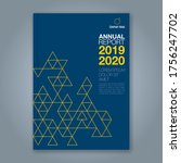 abstract minimal geometric...   Shutterstock .eps vector #1756247702