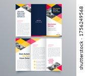 brochure design  brochure... | Shutterstock .eps vector #1756249568