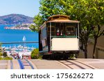 san francisco hyde street cable ... | Shutterstock . vector #175626272
