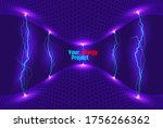abstract energy formation.... | Shutterstock .eps vector #1756266362