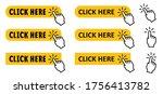 cursor  click here internet...   Shutterstock .eps vector #1756413782