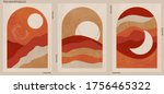 abstract minimalist hand drawn... | Shutterstock .eps vector #1756465322