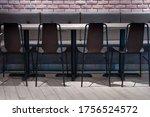 Modern Row Set Of Wooden Chair...