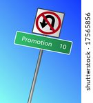 promotion 10 miles  km  ahead ... | Shutterstock .eps vector #17565856