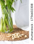 bottom part of vase filled with ... | Shutterstock . vector #1756602308