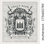 hand drawn banner with coat... | Shutterstock .eps vector #1756602785