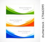 set of banners | Shutterstock .eps vector #175662095