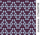 seamless pattern with a... | Shutterstock .eps vector #1756639748