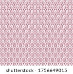 abstract geometric pattern.... | Shutterstock .eps vector #1756649015