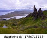 The old men of Storr cloudy day - The Storr