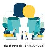 vector illustration  social... | Shutterstock .eps vector #1756794035