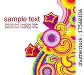candy frame | Shutterstock .eps vector #17568106