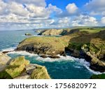 View Of Coastline From Tintagel ...