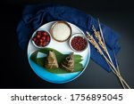 Zongzi And Raw Materials For...