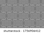 White Complex Geometric Outlin...