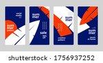 social media story mobile... | Shutterstock .eps vector #1756937252