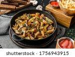 homemade fried potato with... | Shutterstock . vector #1756943915