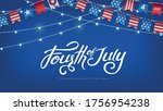 independence day usa banner... | Shutterstock .eps vector #1756954238