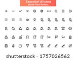 essential ui icons set....