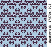 seamless pattern with a... | Shutterstock .eps vector #1757064905