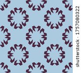 seamless pattern with a... | Shutterstock .eps vector #1757080322