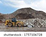 Front End Loader At Landfill...