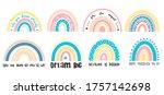 baby vector illustration hand...   Shutterstock .eps vector #1757142698
