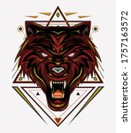 Red Wolf Logo  Wolves Vector ...