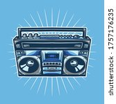 Old Radio Compo Vector...