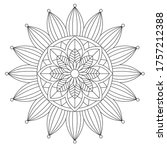 Easy Mandala Coloring Page On...