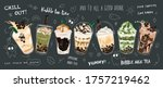 bubble tea special promotions... | Shutterstock .eps vector #1757219462
