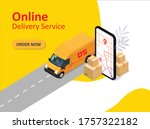 online delivery service....