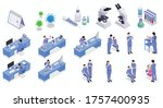 vaccination isometric set of...   Shutterstock .eps vector #1757400935