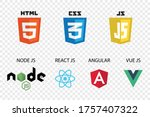 vector collection of web... | Shutterstock .eps vector #1757407322