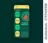 strawberry nutrition smartphone ...