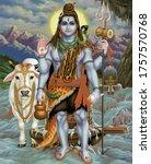Hindu God Lord Shiva Portrait...