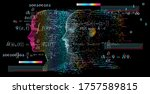 artificial intelligence and... | Shutterstock .eps vector #1757589815