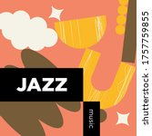 jazz music playlist. vector ...