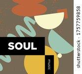 soul music playlist. vector ...