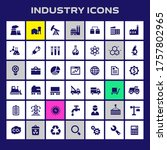 trendy flat design big industry ...   Shutterstock .eps vector #1757802965