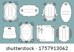 chinese style frame border...   Shutterstock .eps vector #1757913062