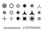 set black collection star icons ...   Shutterstock .eps vector #1757955992