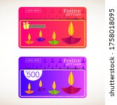 Festive Gift Card For Deepaval...