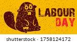sketch of industrious animal is ...   Shutterstock .eps vector #1758124172