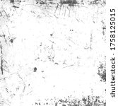 grunge urban texture with spots ... | Shutterstock .eps vector #1758125015